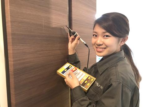 DIYや絵を描くことが好きなあなた必見!床や壁の傷を直すお仕事